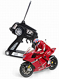 Ducati R/C Motorcycle with Leaning Rider
